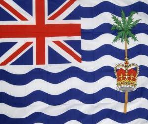 Rompicapo di Bandiera del territorio britannico dell'Oceano Indiano