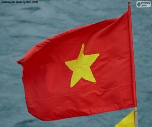 Rompicapo di Bandiera del Vietnam