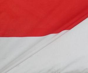 Rompicapo di Bandiera dell'Indonesia