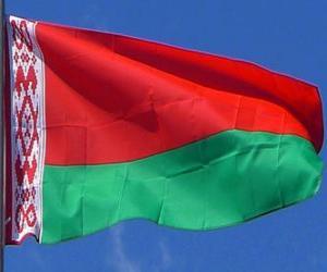 Rompicapo di Bandiera della Bielorussia
