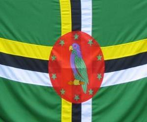 Rompicapo di Bandiera della Dominica