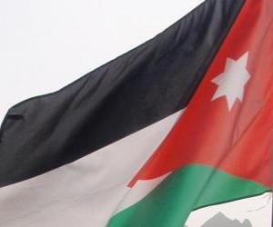 Rompicapo di Bandiera della Giordania