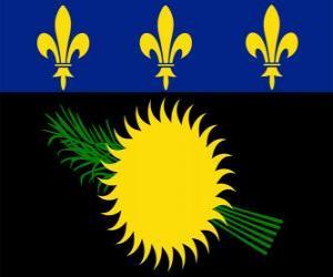 Rompicapo di Bandiera della Guadalupa