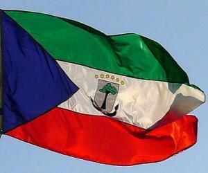 Rompicapo di Bandiera della Guinea Equatoriale