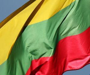 Rompicapo di Bandiera della Lituania