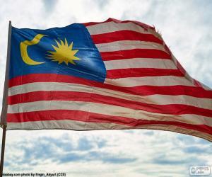 Rompicapo di Bandiera della Malesia