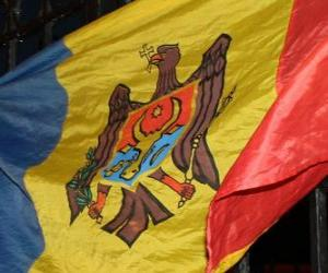 Rompicapo di Bandiera della Moldavia
