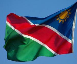Rompicapo di Bandiera della Namibia