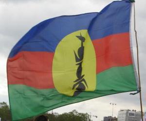 Rompicapo di Bandiera della Nuova Caledonia