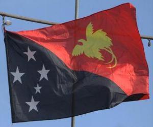 Rompicapo di Bandiera della Papua Nuova Guinea