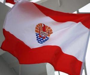 Rompicapo di Bandiera della Polinesia francese