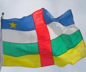 Rompicapo di Bandiera della Repubblica Centrafricana