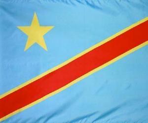Rompicapo di Bandiera della Repubblica democratica del Congo