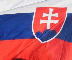 Rompicapo di Bandiera della Slovacchia