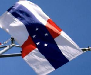 Rompicapo di Bandiera delle Antille Olandesi