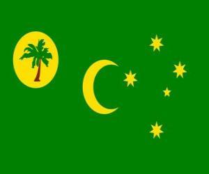 Rompicapo di Bandiera delle Isole Cocos