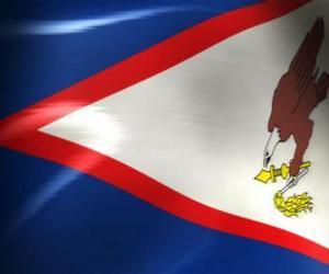 Rompicapo di Bandiera delle Samoa Americane