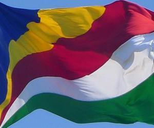 Rompicapo di Bandiera delle Seychelles