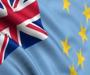 Rompicapo di Bandiera delle Tuvalu