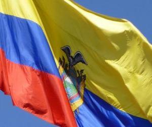 Rompicapo di Bandiera dell'Ecuador