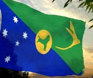 Rompicapo di Bandiera dell'isola del Natale