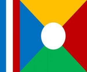 Rompicapo di Bandiera dell'isola della riunione