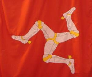 Rompicapo di Bandiera dell'isola di Man