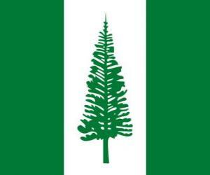 Rompicapo di Bandiera dell'isola Norfolk