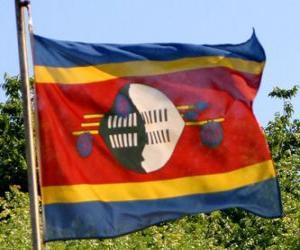 Rompicapo di Bandiera dello Swaziland