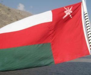 Rompicapo di Bandiera dell'Oman