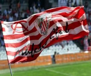 Rompicapo di Bandiera di Athletic Club - Bilbao -