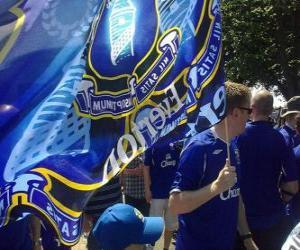 Rompicapo di Bandiera di Everton F.C.