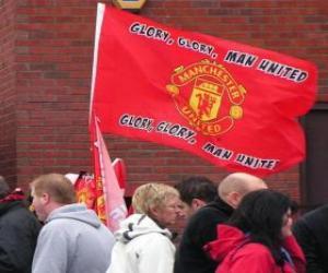 Rompicapo di Bandiera di Manchester United F.C.