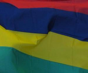 Rompicapo di Bandiera di Mauritius