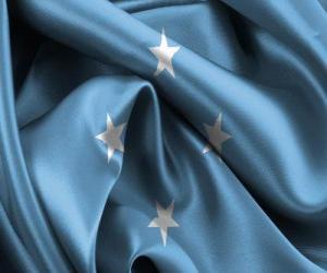 Rompicapo di Bandiera di Micronesia