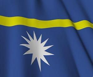 Rompicapo di Bandiera di Nauru