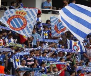 Rompicapo di Bandiera di R.C.D. Espanyol