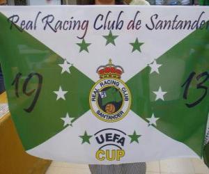 Rompicapo di Bandiera di Racing de Santander