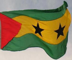Rompicapo di Bandiera di Santo Tomé e Principe