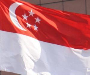 Rompicapo di Bandiera di Singapore