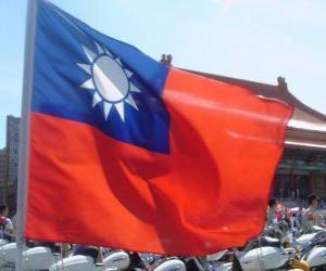 Rompicapo di Bandiera di Taiwan