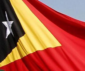 Rompicapo di Bandiera di Timor Est