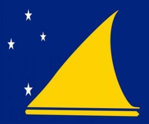 Rompicapo di Bandiera di Tokelau