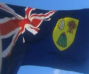Rompicapo di Bandiera di Turks e Caicos