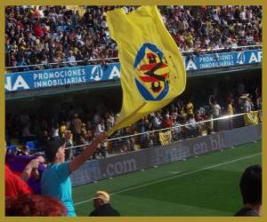 Rompicapo di Bandiera di Villarreal C.F.