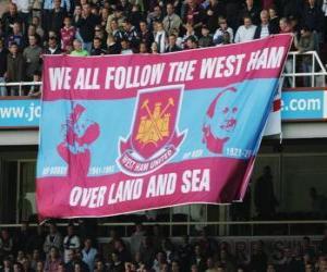 Rompicapo di Bandiera di West Ham United F.C.