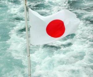 Rompicapo di Bandiera dil Giappone
