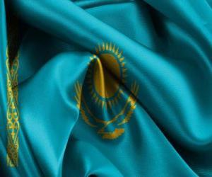 Rompicapo di Bandiera dil Kazakistan