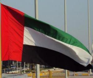 Rompicapo di Bandiera Emirati Arabi Uniti