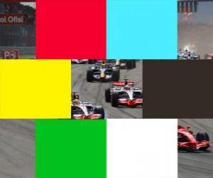 Rompicapo di Bandiere colori F1